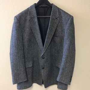 💫MENS JOS A BANK Tweed Wool Sport Coat * SZ 50R